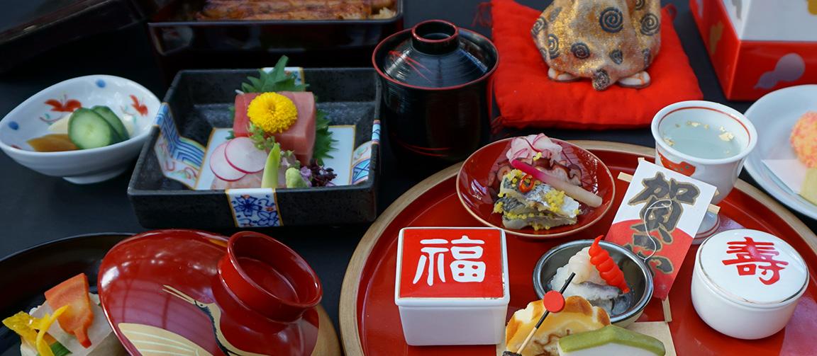 四季の彩りを表現した日本料理